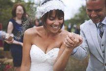 ▲ CHEVEUX COURTS ▲ / Les petites têtes ont aussi droit à leur coiffure de mariée.
