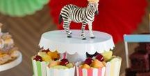 circus party theme inspiration & ideas / circus party, circus, circus theme, cirque du soleil, carnival, festival, tight rope, clown, big top