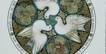 Fantail Doves / Beautiful harbingers of peace and hope - a board dedicated to Anthea Shaw