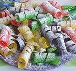 Ricette di Carnevale - Carnival recipes / Ricette tipiche per la festa più colorata dell'anno!
