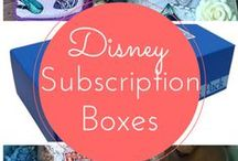 Subscription Boxes / Get a monthly surprise in the mail - now including Disney subscription boxes!