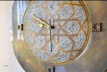 Wall Watch, Wall Clock, Duvar Saati, Özel Tasarım Saat / Wall Watch, Wall Clock, Duvar Saati, Özel Tasarım Saat, duvar saatleri, sedef kakma sanatı, el yapımı