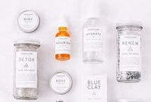 wishlist | natural beauty products / A wishlist board of natural, organic and vegan products.