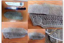 leather knife sheath ΚΑΤΑΣΚΕΥΗ ΔΕΡΜΑΤΙΝΗΣ ΘΗΚΗΣ ΠΑΡΑΔΟΣΙΑΚΟΥ ΜΑΧΑΙΡΙΟΥ