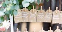 escort card ideas & printables / escort card, wedding planning, seating chart, wedding ideas, wedding inspiration