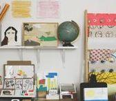 Ferviente / Espacio dedicado a la venta de pinturas y dibujos sobre diversos soportes. Casa Teodora, Guadalajara, México. Un proyecto gráfico de Raquel Barrios