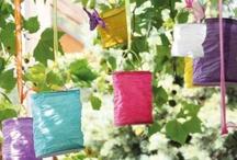 accessoires déco plein air / Illuminez vos fêtes ! Lampions, lanternes volantes, photophores...  blancs ou colorés, choisissez.