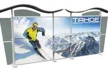 Tradeshow Displays / We can make you stand out in a see of vendors with our tradeshow displays.