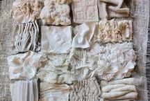 Textiles, Embellishments and Texture / by Lynn Gabos
