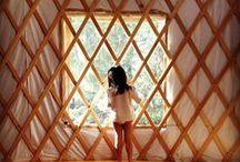 Yurt Life / Vita in una yurt / by La yurta nel bosco