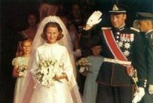 Royal wedding gowns, Norway