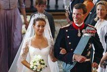Royal wedding gowns, Denmark