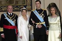 Royal wedding gowns, Spain