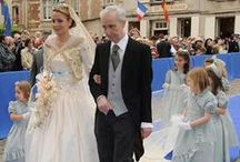 Royal wedding gowns, France
