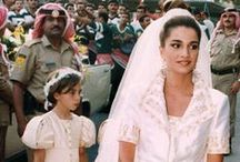 Royal wedding gowns, Jordan
