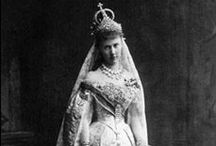 Royal wedding gowns, Russia