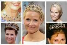 Royal Tiaras, Norway / Tiaras used by the Royal family of Norway.