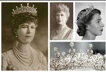 Royal Tiaras, Great Britain / Tiaras used by the Royal family of Great Britain.