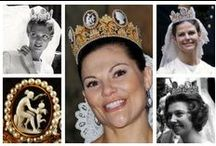 Royal Tiaras, Sweden / Tiaras used by the Royal family of Sweden.