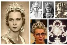 Royal Tiaras, Italy / Tiaras used by the former Royal and Princely families of Italy.