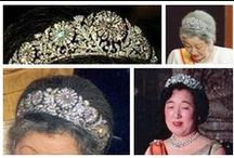 Royal Tiaras, Japan / Tiaras used by the Imperial family of Japan.