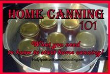 Canning, Dehydrating, Preserving / If it can be grown and harvested, it's here!