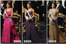 Royal Style, The Nobel Prize / The Swedish Royal ladies style at the Nobel Ceremony trough the years.