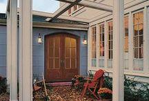 Doors, Doors, Doors / Examples of all types of Beautiful Doors to inspire