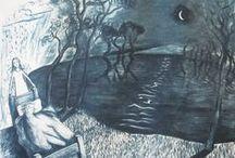 Shana James Folio / A snapshot of recent artwork by Shana James printmaker and painter.