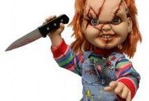 Terror / Figuras, muñecos y otros terroríficos artículos de coleccionismo de tus películas de miedo favoritas.