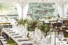 Wedding ideas / Chateau de Puissentut is a wonderful place for an informal or rustic wedding. Here are some of the wedding decor ideas that I love and think would work well at the Chateau.