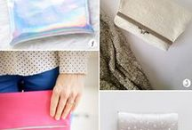 sewing - bags & purses & clutches DIY