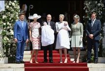 Christening of Prince Jacques and Princess Gabriella of Monaco