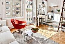 Home | Small Spaces / Decoración de apartamentos y viviendas pequeñas / Small Spaces