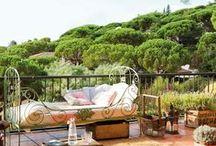 Home | Exteriors / Decoración de espacios exteriores. Terrazas, balcones, patios y jardines. / Outdoor Decoration