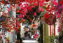 Pelopenne og Athen Greece.