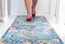Deco | Floors / Pavimentos y suelos en decoración / Pavements & floors materials