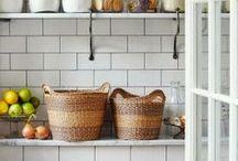 Desing | Baskets / Decoración con cestos / Baskets