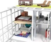 Desing | Dollhouses / Casa de muñecas y miniaturas / Dollhouses