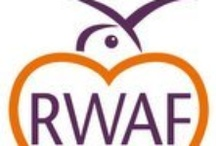 Rabbit Welfare Association and Fund.  / The RWAF is working to improve the lives of domestic rabbits through education & communication. Rabbits are intelligent creatures that need space, exercise, companionship & stimulation.