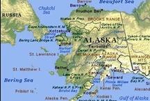 Alaska / Alaska! Alaskan Mountains ~ Alaska Rivers ~ Alaska Cities ~ We love Alaska!
