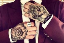 Tatoos and rock style