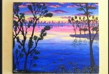 Peinture/ Painting / Ici tu trouveras toutes mes toiles =) Here you gonna see all my paintings