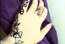 Tatouages henné / Henna tattoo / Vous trouverez toutes mes créations Henné et paillettes