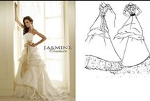 TEMPLE READY WEDDING GOWNS / JASMINE and CASABLANCA TEMPLE READY WEDDING GOWNS