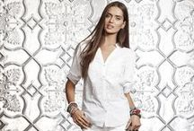 Summer Whites / We love the freshness of white in Summer, such an easy colour to wear.