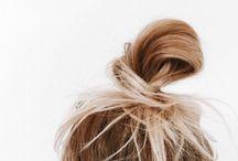 Hair ❤️ / Hair - Blond - Ponytaile - Crulls - Short Hair - Long Hair - Ombre - Braid - Bun