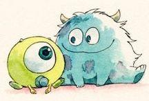 Monsters / bichitos, tipitos, personajes, y demás