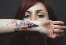 inspiraatioasiat / tattoos, pretty hairs, nails and some make up - something I want and something that inspire me
