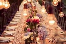 Table / party decoration / How to spice things up or make it more fancy.